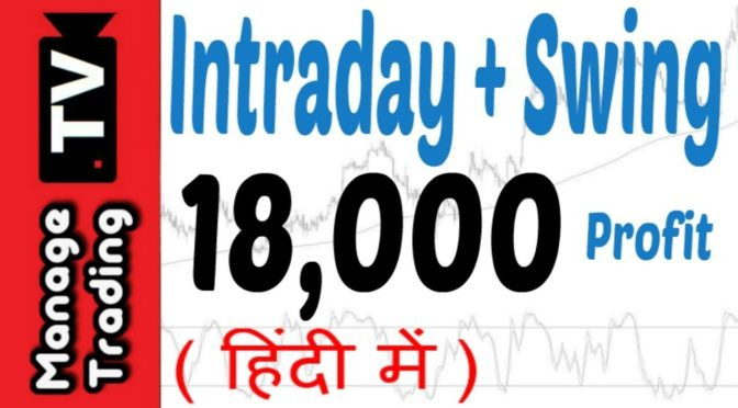 Intraday Trading Swing Trading Strategies in Hindi Best