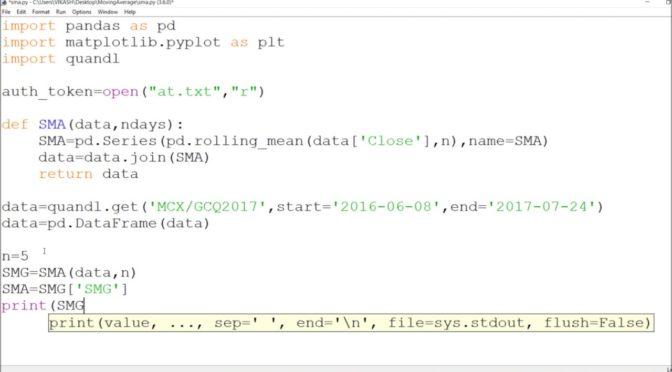 Python forex indicators