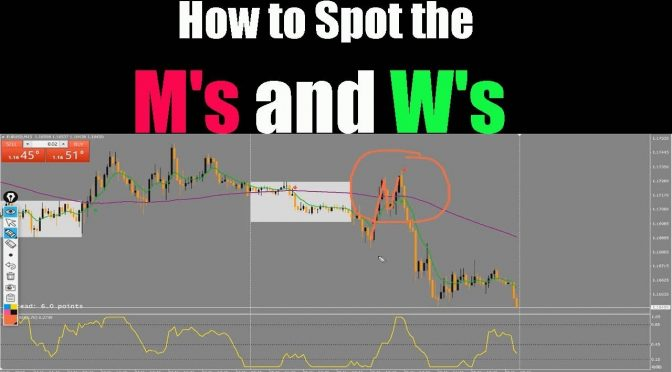 HOW TO SPOT THE M'S AND W'S FOR TRADING