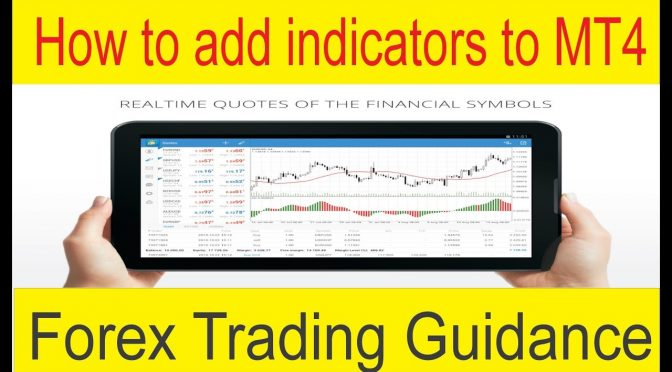 How to add indicators to MT4 | Forex Trading Guidance And Trainin…