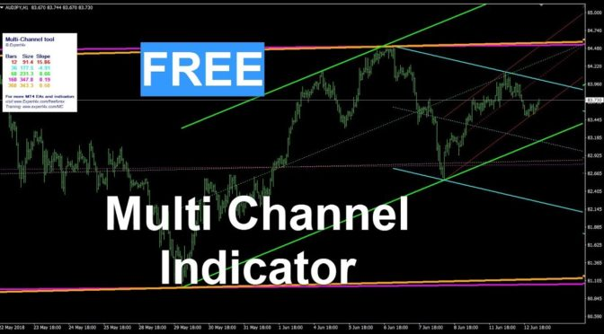 FREE Forex Multi Channel Trading MT4 Indicator download