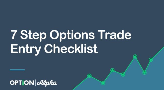 Option trading checklist